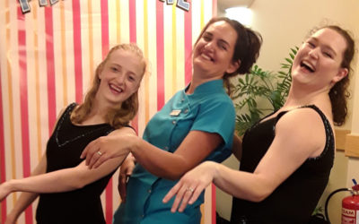 Hollywood glamour at Hengist Field Care Home