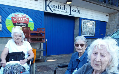Kentish Lady boat trip at Hengist Field Care Home