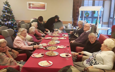 A Christmas Afternoon Tea at Hengist Field Care Home