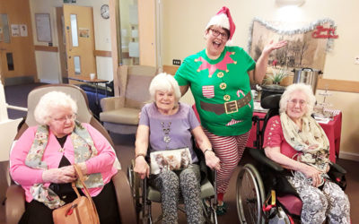 All the fun of the Christmas Fair at Hengist Field Care Home