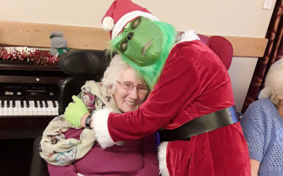 Christmas party fun at Hengist Field Care Home