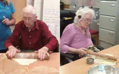 Tasty baking at Hengist Field Care Home