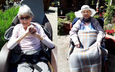 Sunshine and smiles at Hengist Field Care Home