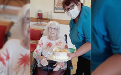 Happy birthdays and reunions at Hengist Field Care Home