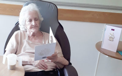 Birthday celebrations at Hengist Field Care Home