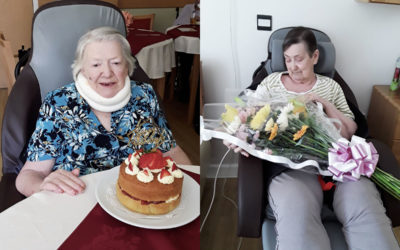 Double birthday celebrations at Hengist Field Care Home