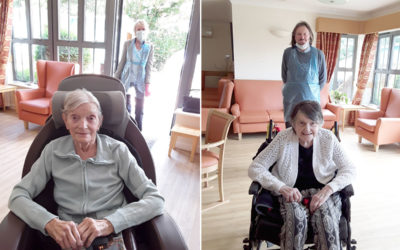 Reuniting loved ones at Hengist Field Care Home