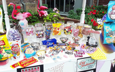 Hengist Field Care Home residents enjoy vintage sweets