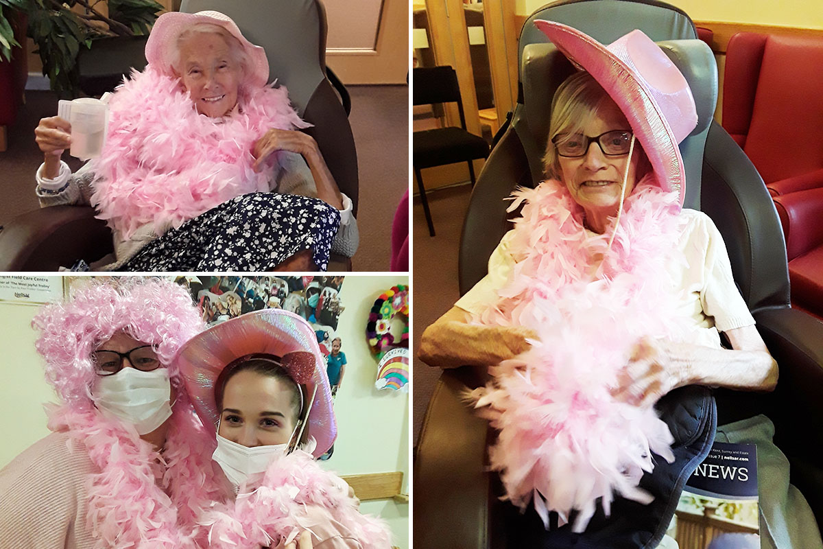 Hengist Field Care Home turns pink for Breast Cancer Awareness