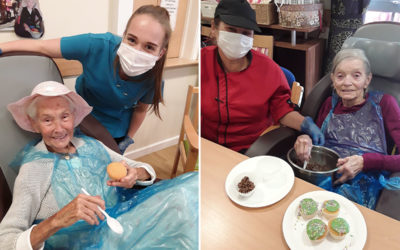 The icing on the cake at Hengist Field Care Home