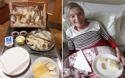 Reminiscing with food at Hengist Field Care Home