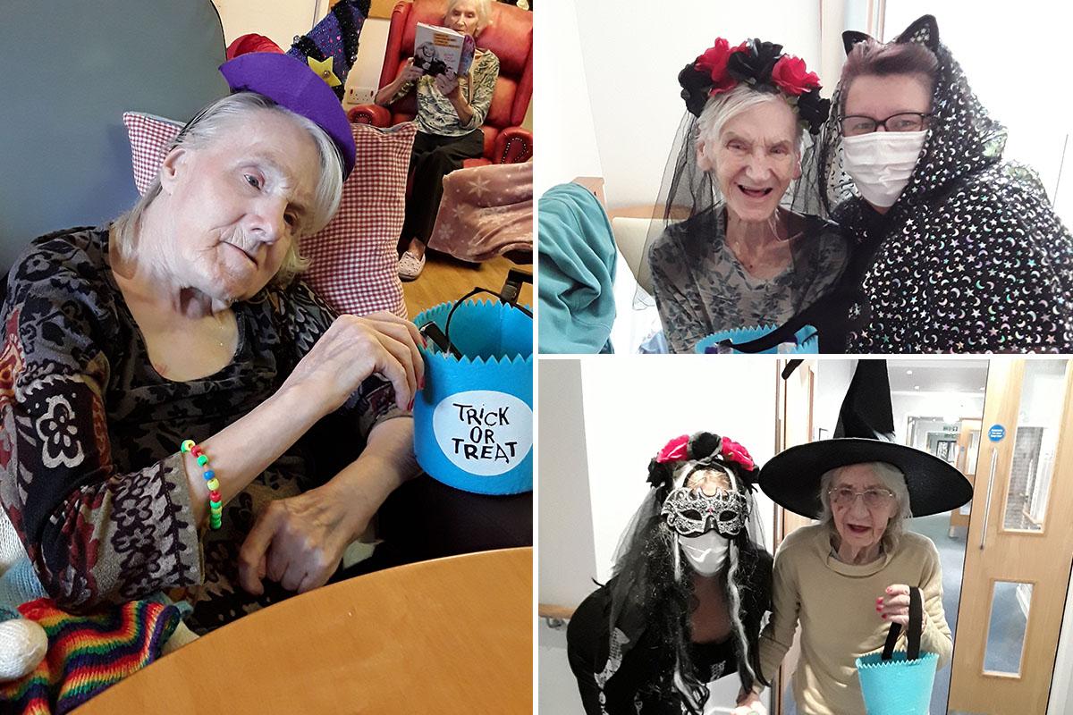 Fancy Dress Halloween fun at Hengist Field Care Home