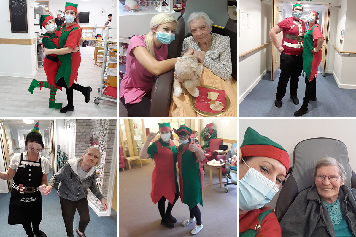 Party time at Hengist Field Care Home