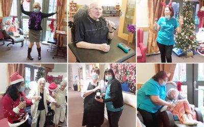 Talent show time at Hengist Field Care Home