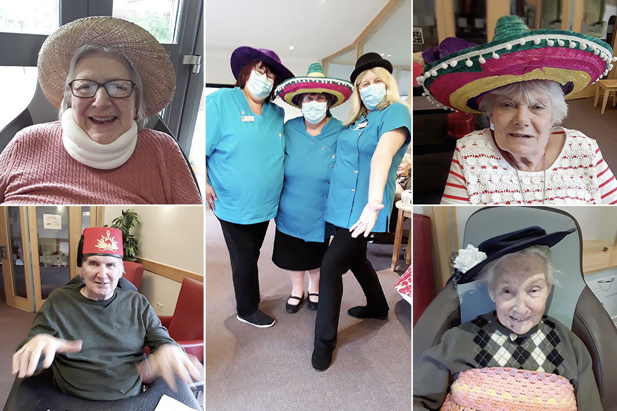 Hats off to Hengist Field Care Home residents