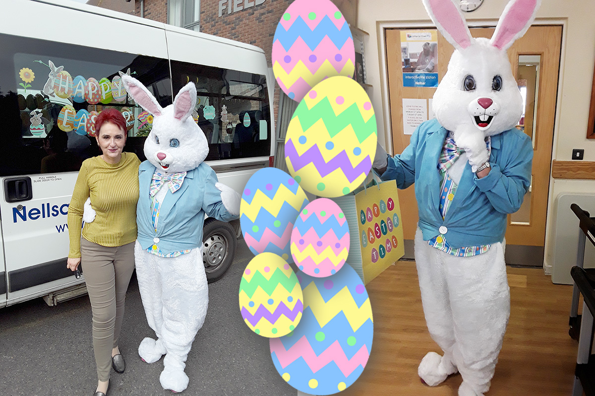 A very hoppy Easter at Hengist Field Care Home
