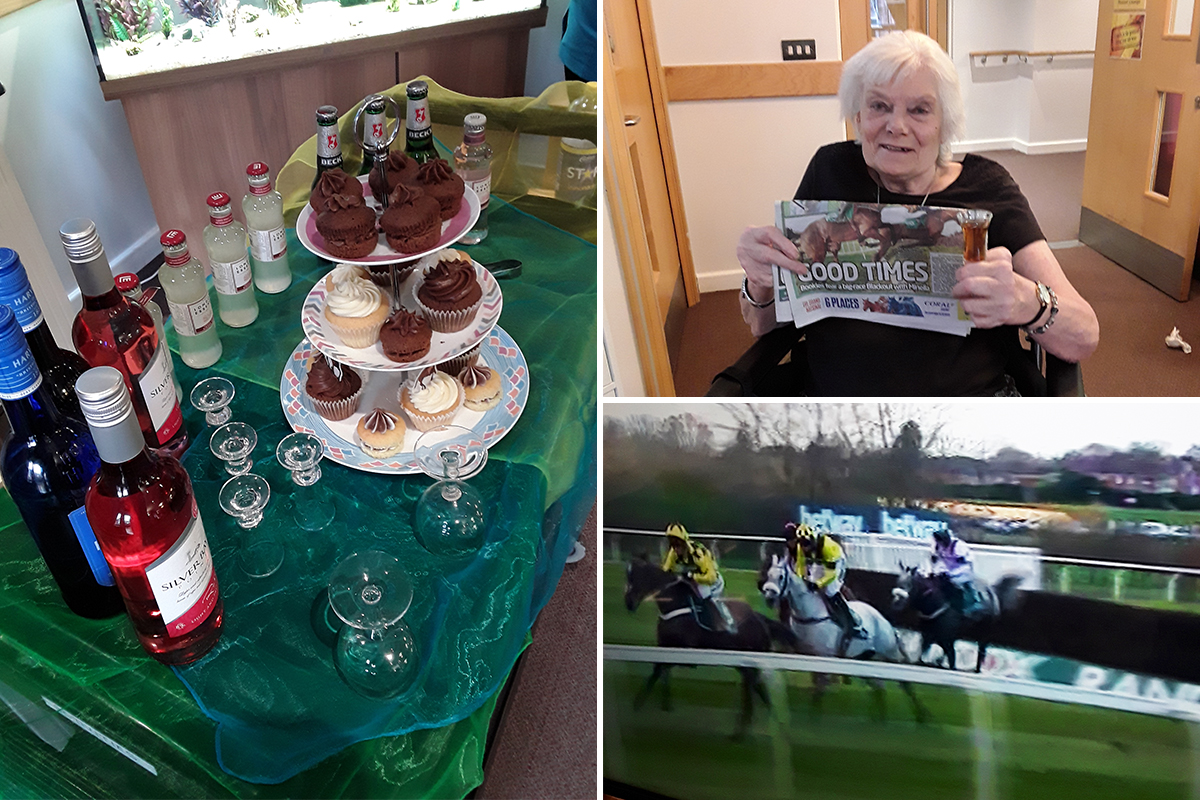 Grand National fun at Hengist Field Care Home