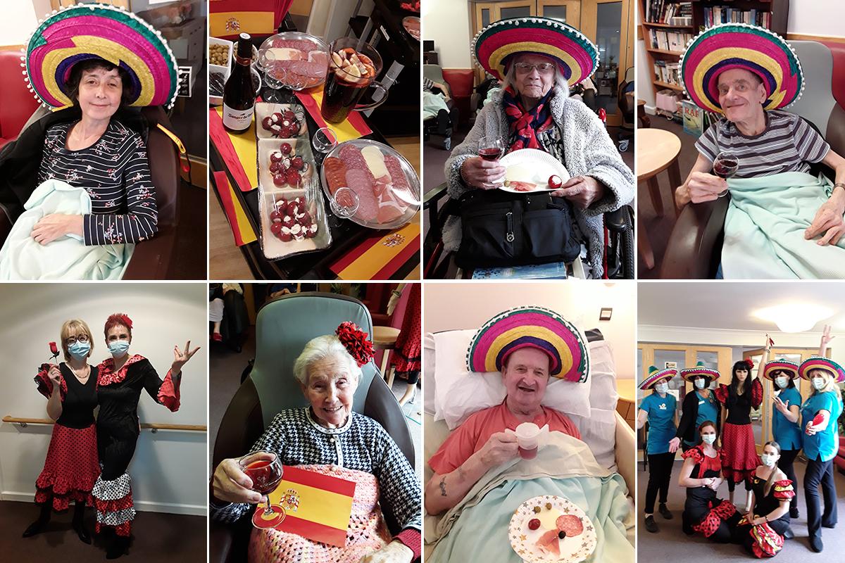 Hengist Field Care Home hosts Spanish Fiesta