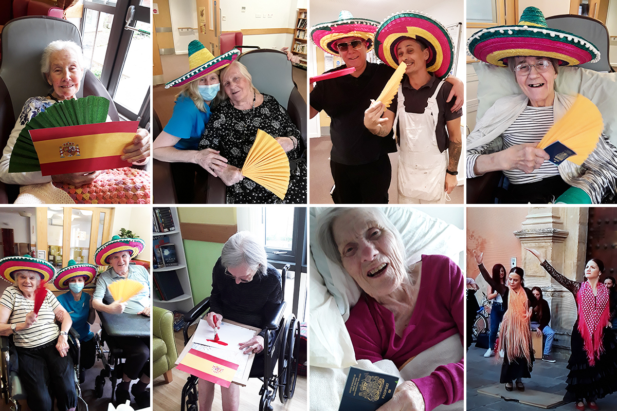 Hengist Field Care Home residents ready themselves for Spain