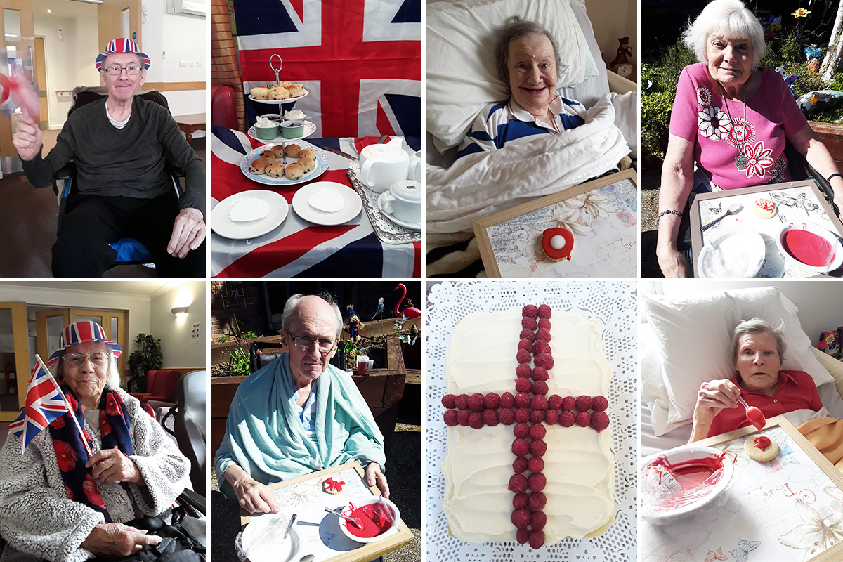 A delicious St Georges Day at Hengist Field Care Home