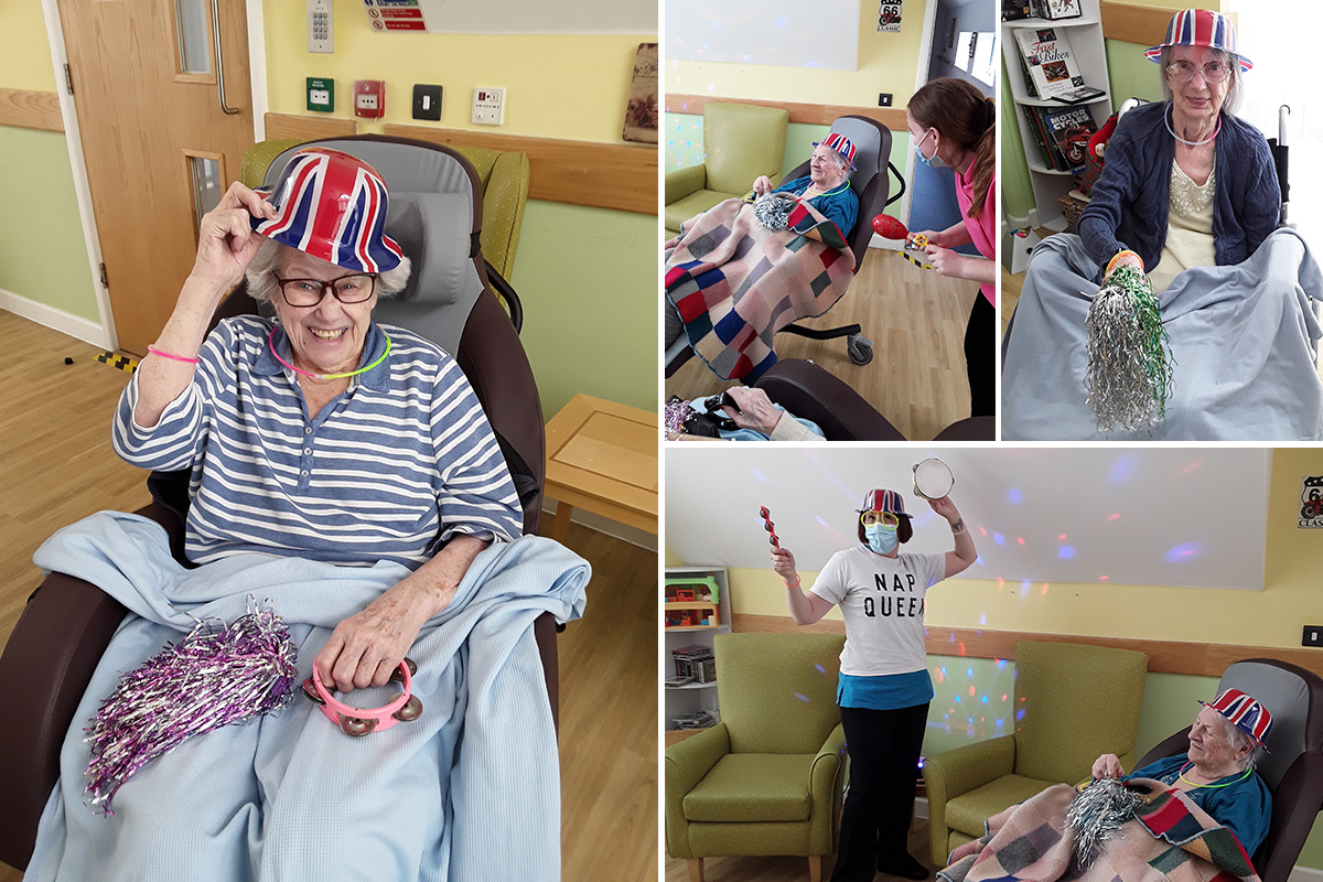 Disco fever at Hengist Field Care Home