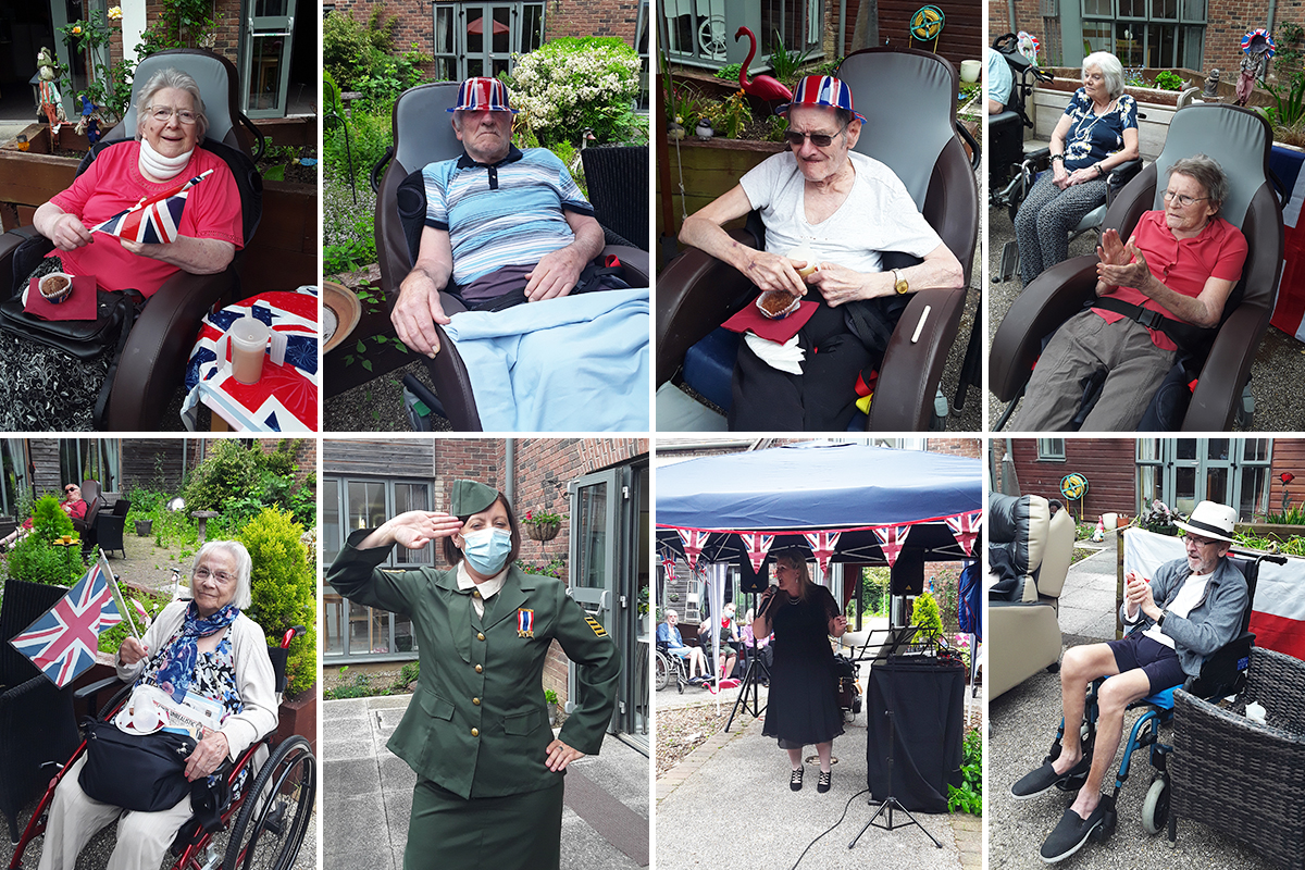 D-Day music and celebrations at Hengist Field Care Home