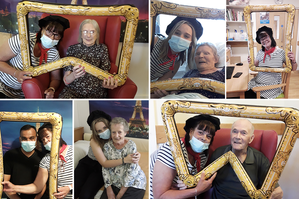 French favourites and arts and crafts at Hengist Field Care Home