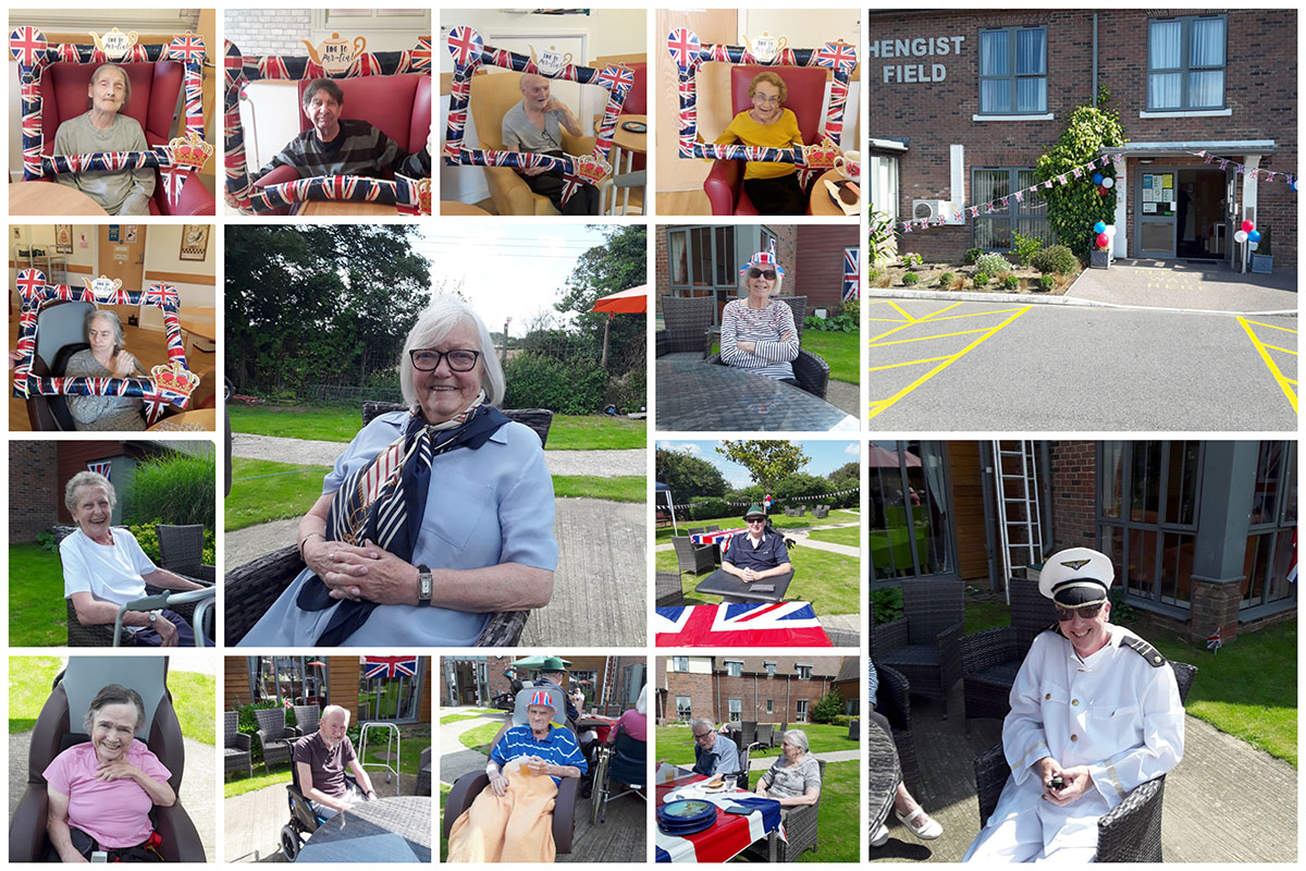 Hengist Field Care Home sail back home